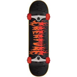 Creature Firestarter Complete Skateboard - Black/Red 7.75