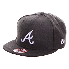 New Era 9Fifty Snapback Cap - Atlanta Braves - Graphite Grey