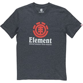 Element Vertical SS T-Shirt - Charcoal Heather