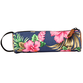 Mi-Pac Pencil Case - Tropical Hibiscus Blue