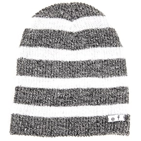 Neff Daily Beanie - Stripe Black/White Heather