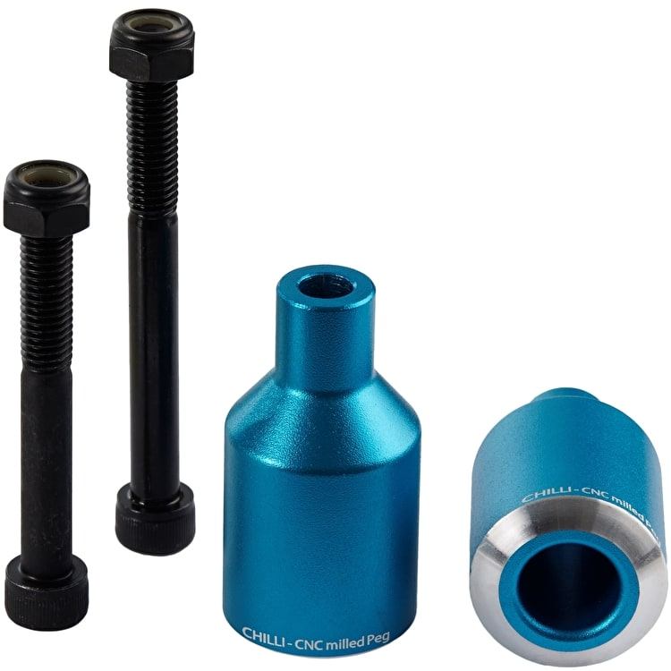Chilli Pro Rocket Scooter Pegs - Blue