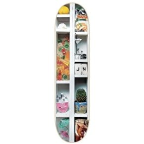 Isle Curiosities Skateboard Deck - White Dipped LE Nguyen 8.375