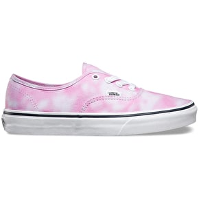 Vans Authentic Shoes - (Tie Dye) Rose Violet