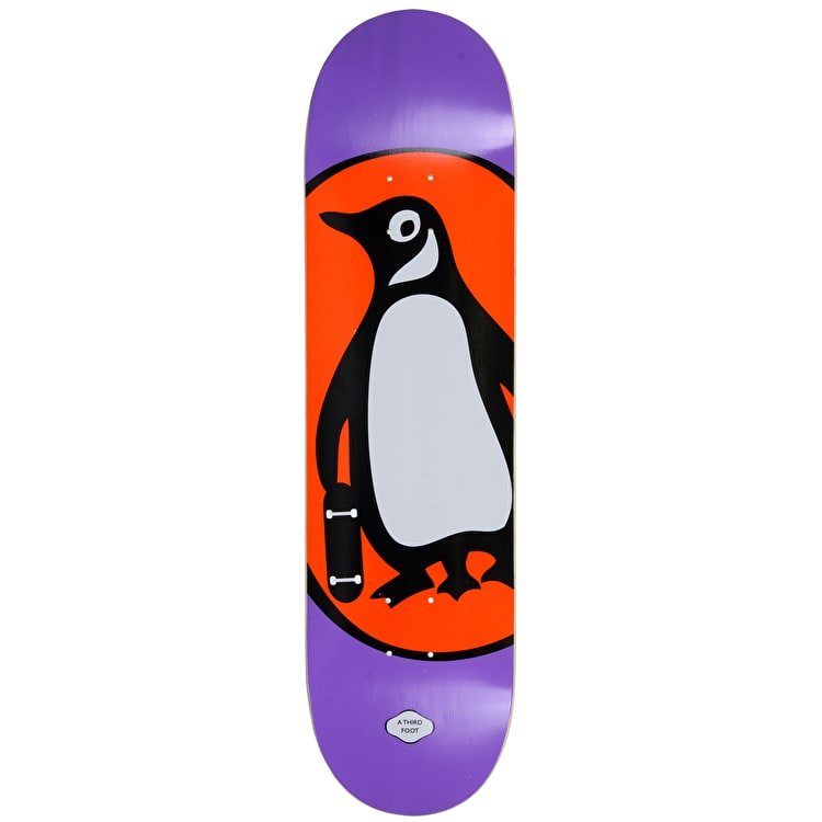 A Third Foot Penguin Books Skateboard Deck - Purple - 8.5""