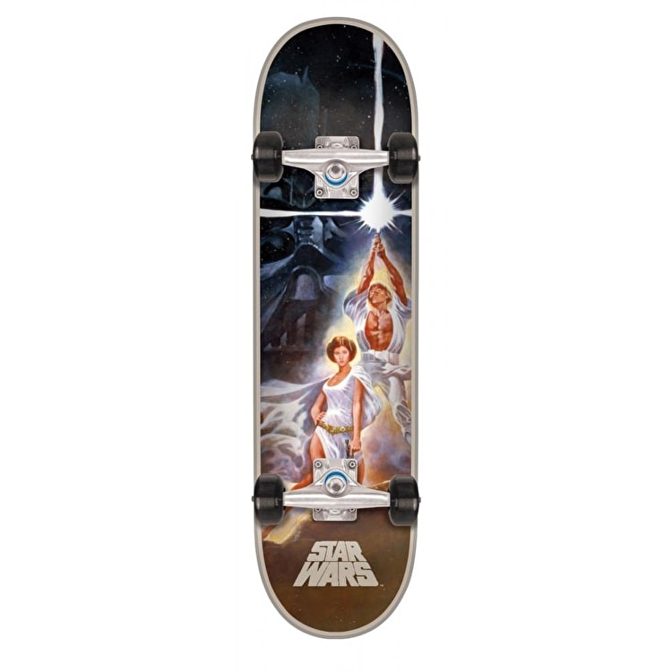 Santa Cruz x Star Wars A New Hope Poster Complete Skateboard - 7.8""