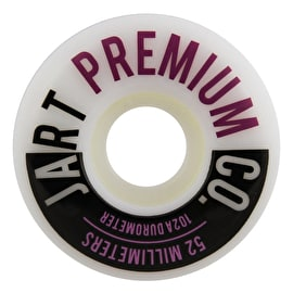 Jart Analogic 102a Skateboard Wheels - Purple 52mm
