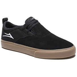 Lakai Riley Hawk 2 Skate Shoes - Black/Gum Suede