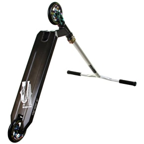 UrbanArtt x MGP Custom Scooter - 120mm Black/Silver/Neochrome