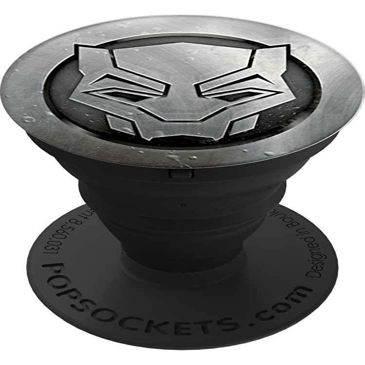 PopSockets Grip - Black Panther Monochrome