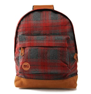 Mi-Pac Backpack - Plaid Red