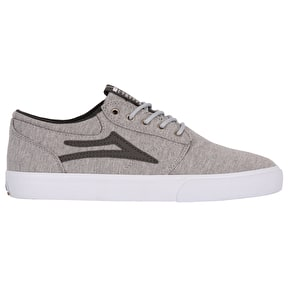 Lakai Griffin Skate Shoes - Grey Textile