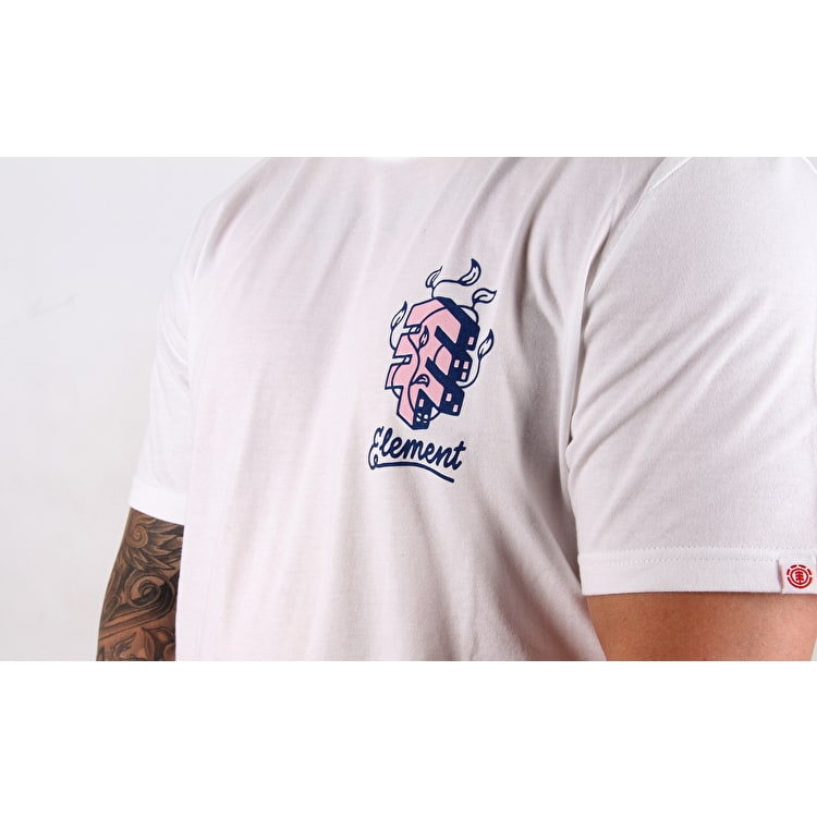 Element Jungle T-Shirt - Optic White