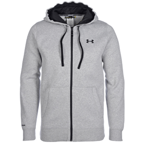 Under Armour CC Storm Transit Zip Hoodie - True Grey Heather