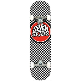 Seven Checkered Complete Skateboard - 7.8