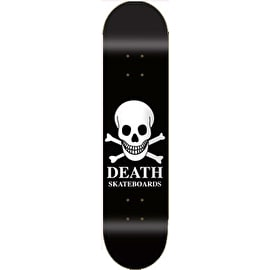Death Black OG Skull Team Skateboard Deck 8