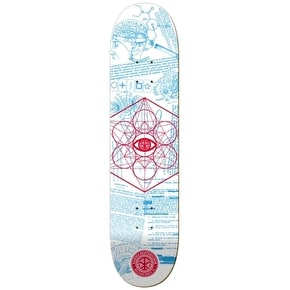 Karma MK Ultra Skateboard Deck - White - 8.25