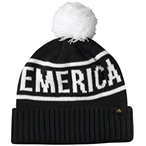 Emerica Steady Pom Beanie - Black