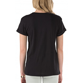 Vans Authentic Rock Womens T-Shirt - Black
