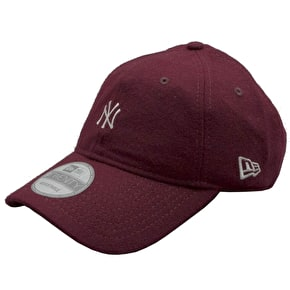 New Era 9Twenty MLB Wool New York Yankees Cap - Maroon