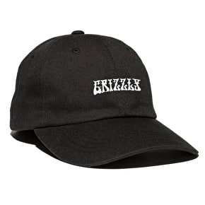 Grizzly Hendrix Dad Hat - Black