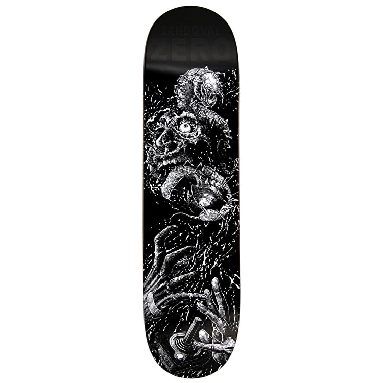 Zero Faces Of Death R7 Skateboard Deck - Sandoval 8.125""
