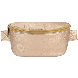 Mi-Pac Tumbled Bum Bag - Metallic Blush