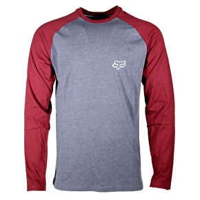 Fox Counterpart Raglan T-Shirt - Pewter