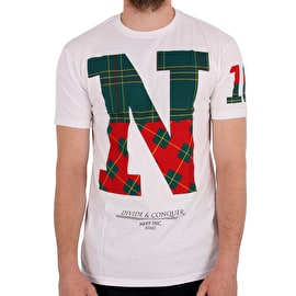 Neff Divide & Conquer T shirt - White