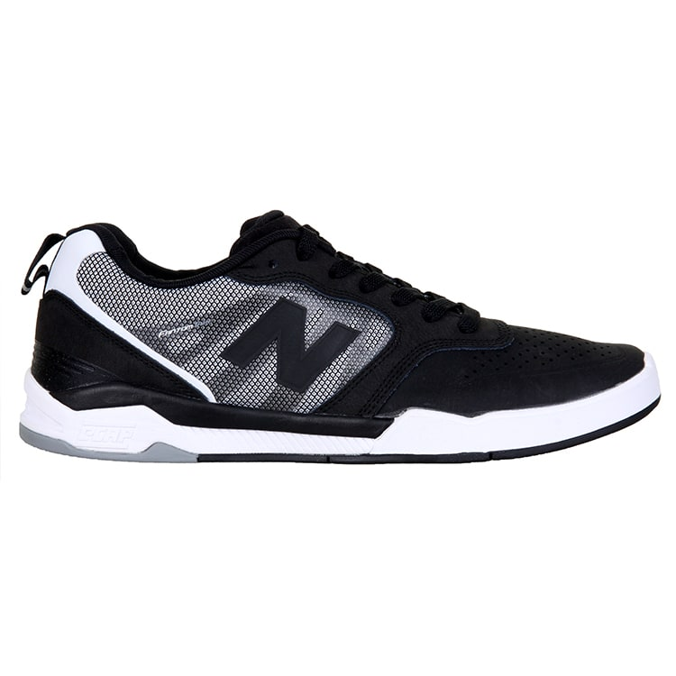 New Balance 868 Skate Shoes - Black/White