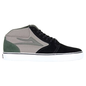 Lakai Fura High Shoes - Black/Walnut Suede