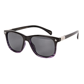 Glassy Sunhaters Biebel Signature - Black/Clear Purple Polarised