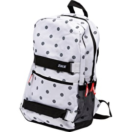 Zukie Polka Backpack - White