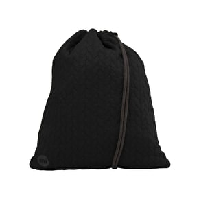 Mi-Pac Jersey Drawstring Kit Bag - Black