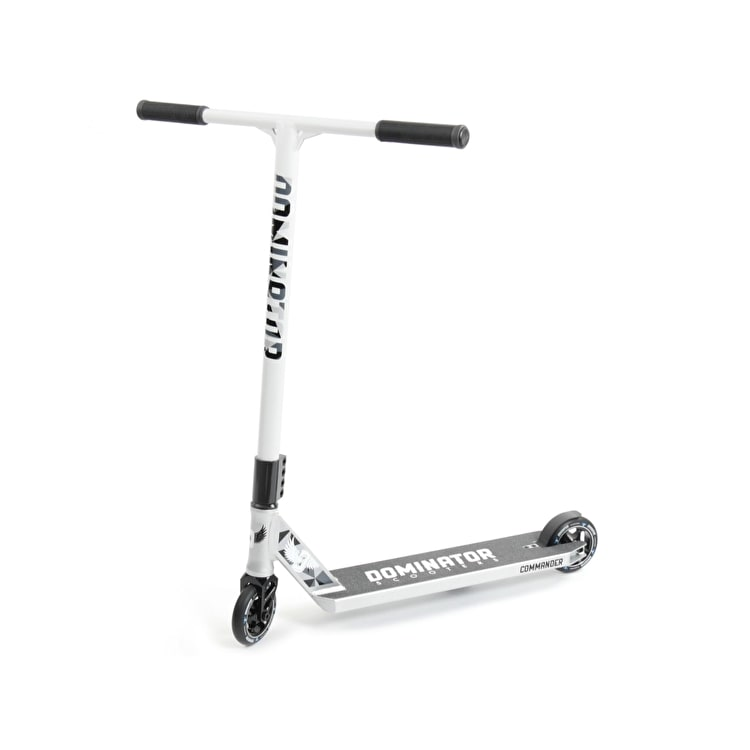 Dominator Scooter - Commander - Silver/White/Black