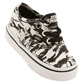 Vans Authentic Toddlers Shoes (Star Wars) Dark Side/Storm Camo