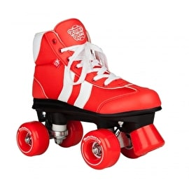Rookie Retro V2.1 Quad Roller Skates - Red/White