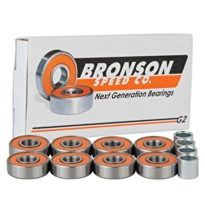 Bronson Speed Co. G2 Skateboard Bearings - Pack of 8