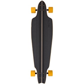 Globe Prowler Complete Longboard - Black/Yellow/Tailspin 38.5