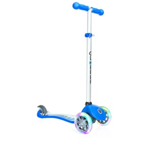 Globber Primo Fantasy Lights Complete Scooter - Racing Navy Blue