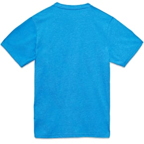 Vans Classic Logo Fill Kids T-Shirt - Royal Heather