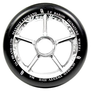 UrbanArtt 125mm Le Baron Wheels - Chrome/Black