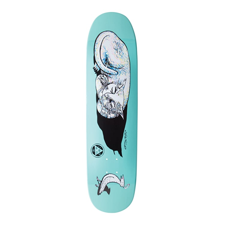 Welcome Miller Sleeping Cat On Catblood Skateboard Deck - 8.5""