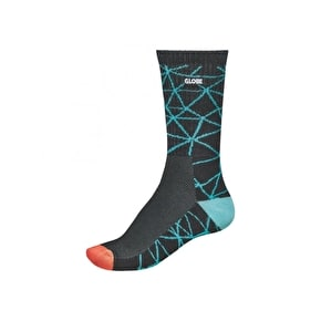 Globe Motion Crew Socks - Geo