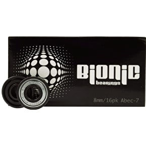 Bionic ABEC 7 Bearings 8mm (Pack of 16)
