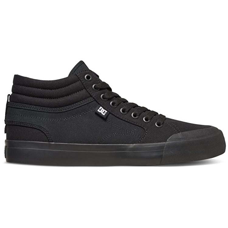 DC Evan Smith Hi Skate Shoes - Black/Gum