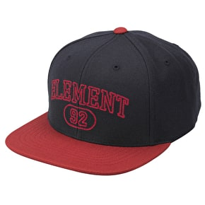 Element Coluseum Snapback Cap - Navy