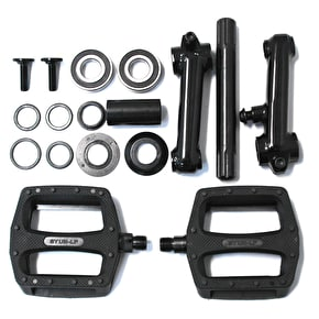 Rocker 8T Black Cranks with Pedals - Black