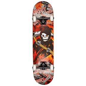 Rocket Music Series Complete Skateboard - Metal