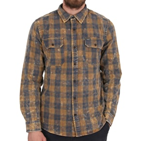Hurley Perry Flannel Shirt - Army Navy